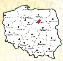 General overview of Poland with location of Mława Poviat